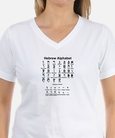 Hebrew Alphabet Shirt