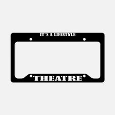 Theatre Gift License Plate Holder Frame