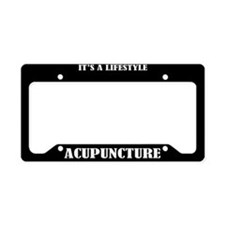 Accupuncture Gift License Plate Holder Frame
