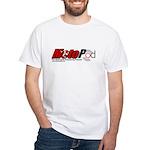 MotoPod IOMTT White T-Shirt