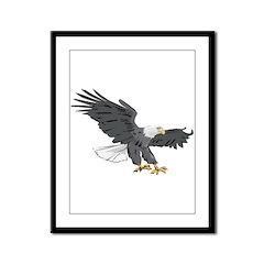 eagle Framed Panel Print