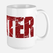[Red] Dexter Large Mug