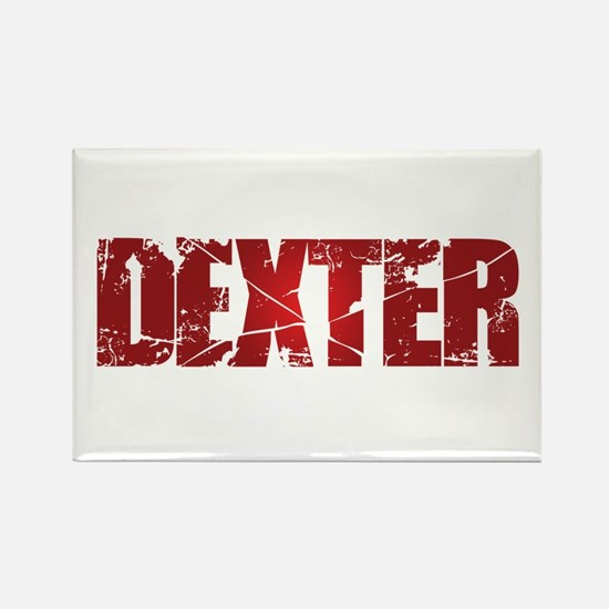 [Red] Dexter Rectangle Magnet
