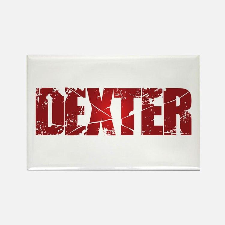 [Red] Dexter Rectangle Magnet