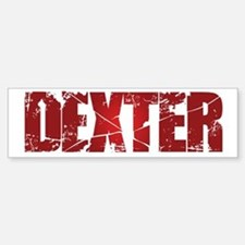 [Red] Dexter Bumper Bumper Sticker