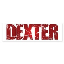 [Red] Dexter Bumper Sticker