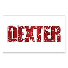 [Red] Dexter Bumper Stickers