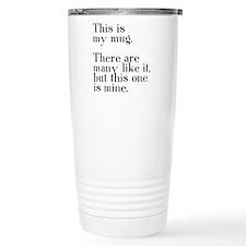 This one is mine. Travel Mug