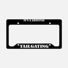 Tailgating Sports License Plate Holder Frame