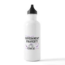 Tamper w Gov Property USCG Girlfriend Water Bottle