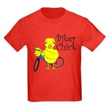 Biker Chick Text T