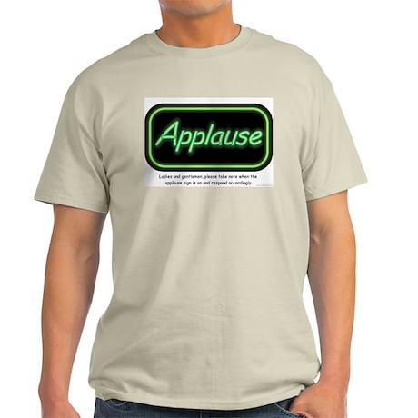 Applause Ash Grey T-Shirt