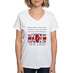 Monsters! Women's V-Neck T-Shirt