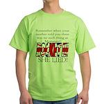 Monsters! Green T-Shirt
