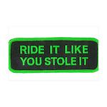 ride it like you stole it 38.5 x 24.5 Wall Peel