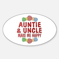 Auntie Uncle Happiness Decal