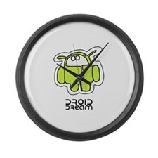 Droid Dream (Android Virus) Large Wall Clock