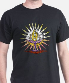 """Stained Glass"" Chalice T-Shirt"