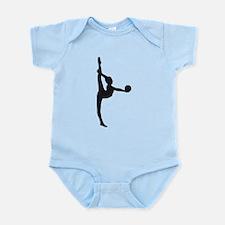 Cute Rhythm gymnastics Infant Bodysuit
