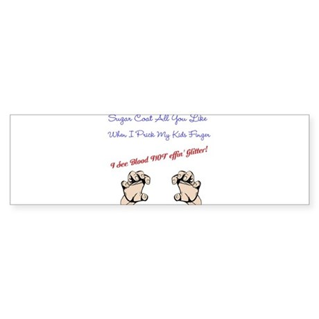 D Mom/Dad Bumper sticker