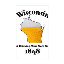 WISCONSINS BETTER THEN YOU LARGE Decal