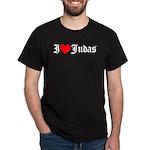 I Love Judas Black T-Shirt