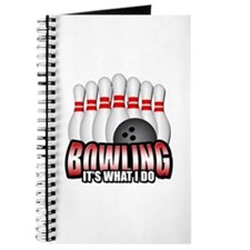 Bowling It's What I Do Journal