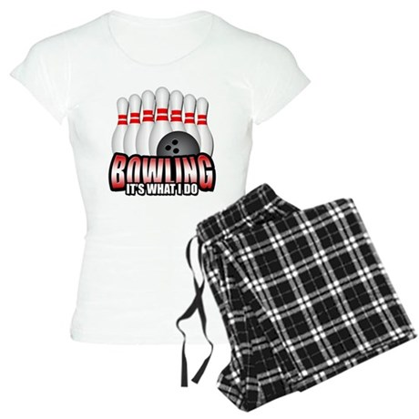 Bowling It's What I Do Women's Light Pajamas