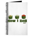 How I Roll (sushi) Journal