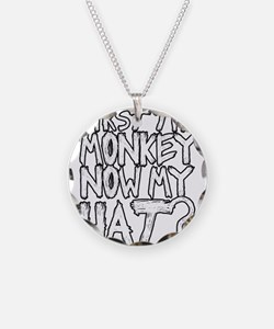 Monkey and Hat Necklace