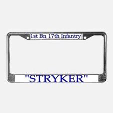 1st Bn 17th Infantry License Plate Frame