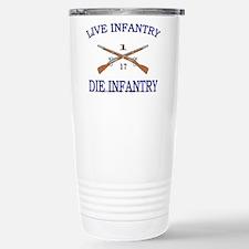 1st Bn 17th Infantry Travel Mug