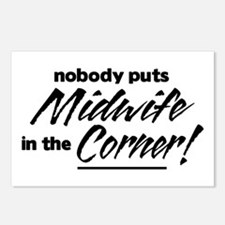 Midwife Nobody Corner Postcards (Package of 8)
