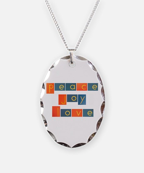 PEACE, JOY, LOVE Necklace