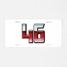 VR46Trans Aluminum License Plate