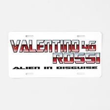 VRTransAlien Aluminum License Plate