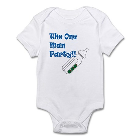 The One Man Party Infant Bodysuit