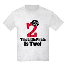 2nd Birthday Pirate T-Shirt