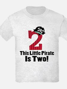 2nd Birthday Pirate T-Shirt