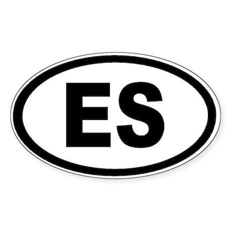 Eat sh-t sticker (Oval)