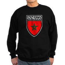Morocco Flag Patch Sweatshirt