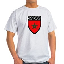 Morocco Flag Patch T-Shirt
