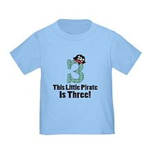 3rd Birthday Pirate T