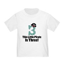 3rd Birthday Pirate T