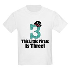 3rd Birthday Pirate T-Shirt