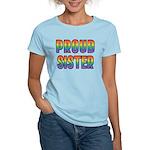 GLBT Rainbow Proud Sister Women's Light T-Shirt