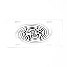 HypnoDisk Aluminum License Plate
