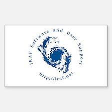 IRAF Sticker (Rectangle)