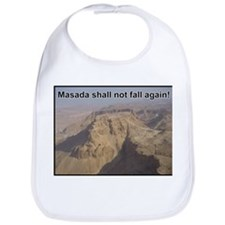 Masada Shall Not Fall Again Bib