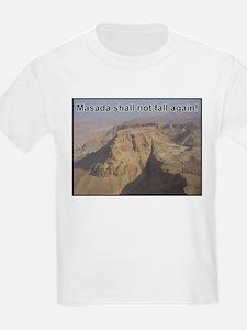 Masada Shall Not Fall Again T-Shirt